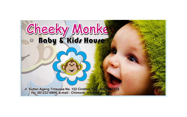 Baby Kids Cirebon Cheeky Monkey