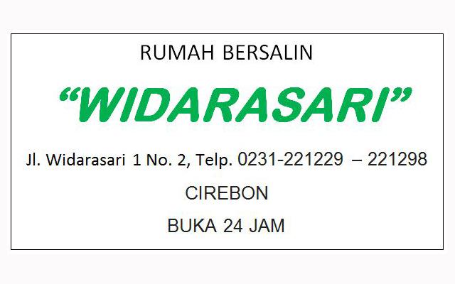 RUMAH SAKIT BERSALIN WIDARASARI CIREBON